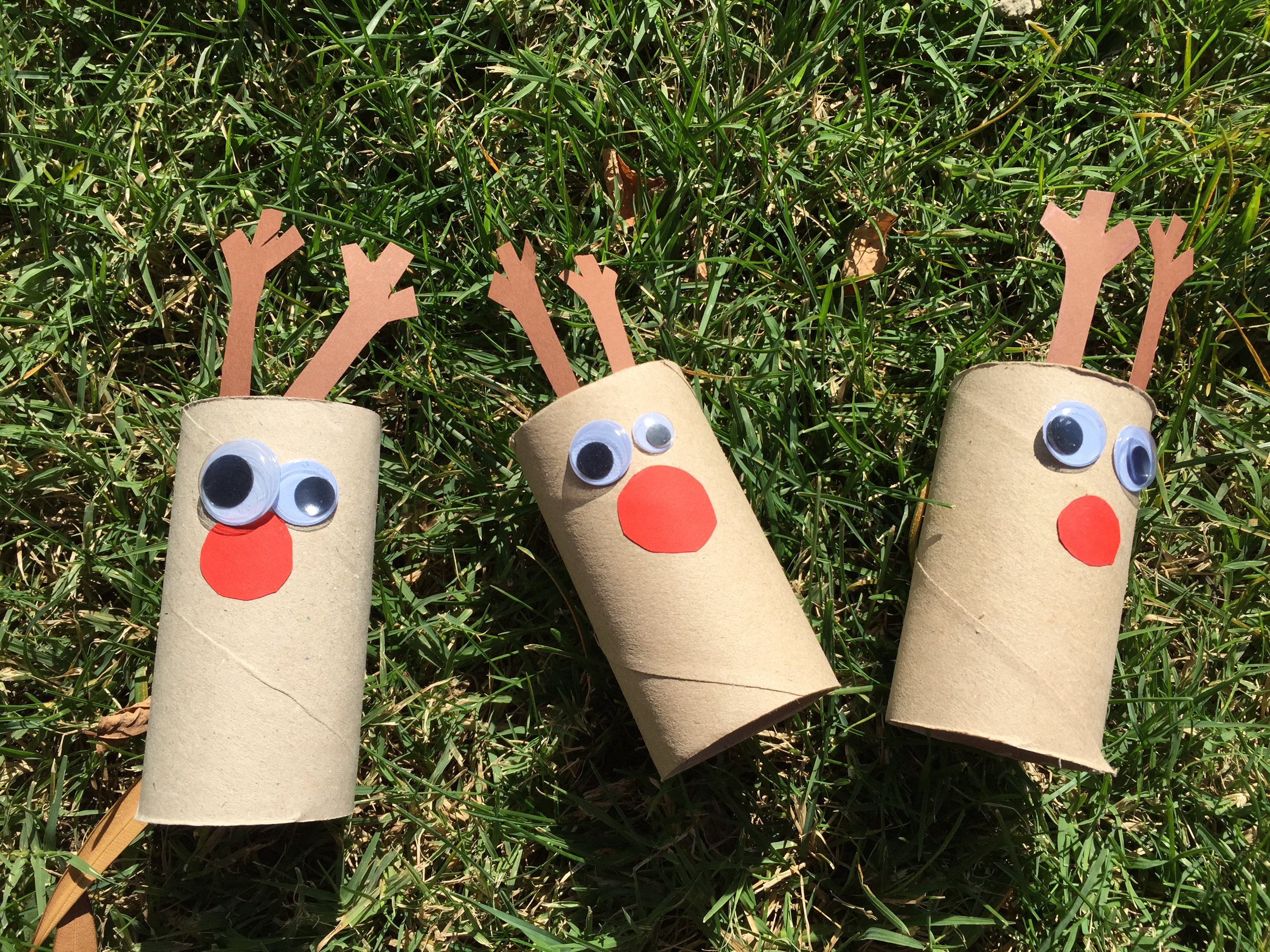 Reno tubo papel higi nico clarimanitas - Manualidades de navidad sencillas para ninos ...