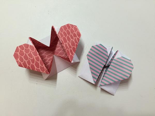 Origami corazón | ClariManitas