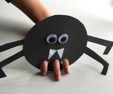 Cómo hacer una araña de papel