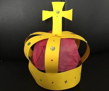 Cómo hacer una corona de rey