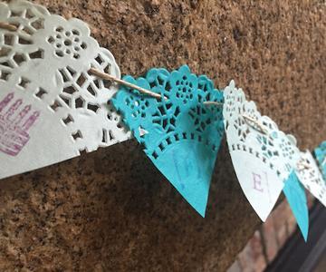 Cómo hacer banderines de papel