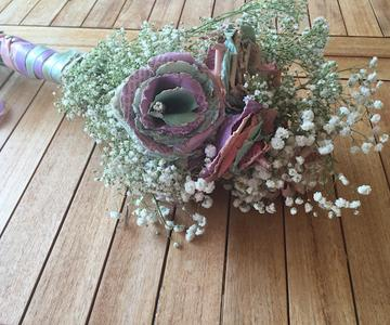 Cómo hacer un ramo de novia