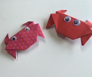 Cangrejo Origami
