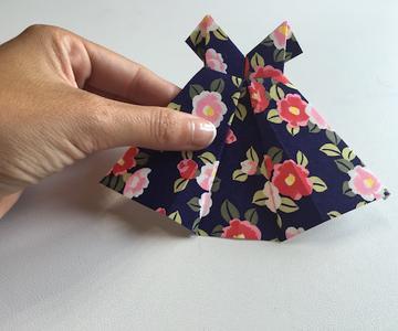 Cómo hacer un vestido de papel