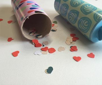 Cañones de confeti