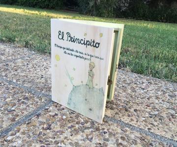 Caja libro El Principito