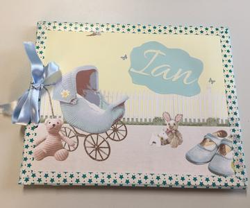 Album de fotos para bebé